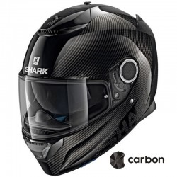 SHARK SPARTAN CARB 1.2 SKIN BLACK ANTHRACITE CASCA MOTO