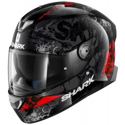 2019 SHARK SKWAL 2 NUK'HEM Black Anthracite Red