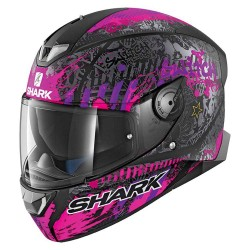 SKWAL 2 Replica Switch Rider Mat Black Violet casca moto