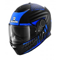 2020 SHARK SPARTAN 1.2 KOBRAK Mat Black blu blu casca moto