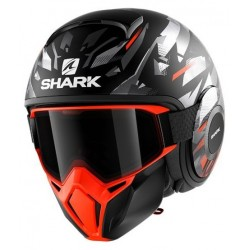 SHARK STREET DRAK KANHJI MAT Black orange silver