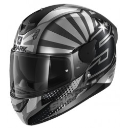 SHARK D-SKWAL 2 ZARCO Mat Anthracite Silver Anthracite