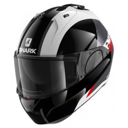 2020 Shark EVO ES ENDLESS White Black Red casca moto modulara