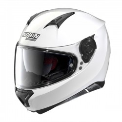 CASCA MOTO NOLAN N87 SPECIAL PLUS N-COM - 15 PURE WHITE