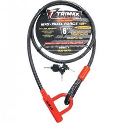 Trimax cablu antifurt cu blocaer disc frana motociclete