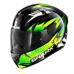 Casca integrala SHARK D-SKWAL 2 PENXA Black Green Yellow
