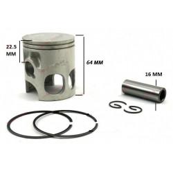 Set piston 2T Yamaha DT/DTR/TZR 125cc