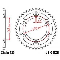 Pinion spate JTR828