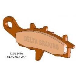 Placute frana Kawasaki-Suzuki ATV-Quad DB 2260 Delta