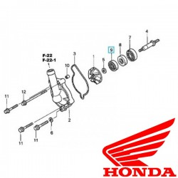 Honda CR-CRF-125-250-450R-X simering pompa apa