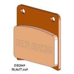 Placute frana Suzuki Roade DB-2069 Delta