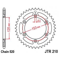 Pinion spate JTR210