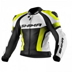 Shima STR geaca moto din piele