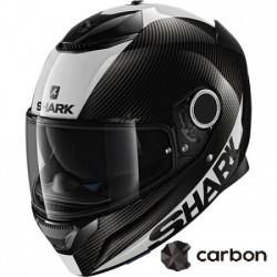 SHARK SPARTAN SKIN CARBON CASCA MOTO
