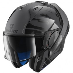 Casca moto modulara Shark Evo-One 2 Lithion Dual Anthracite Black Anthracite