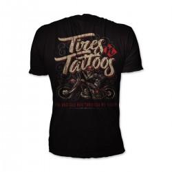 Lethal Threat Tires N Tattoos Tricou