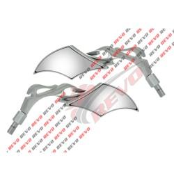 Set oglinzi moto romb M8