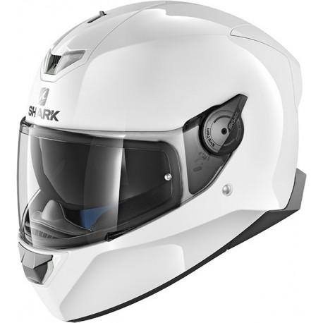 SHARK SKWAL2 BLANK WHITE AZUR CASCA MOTO