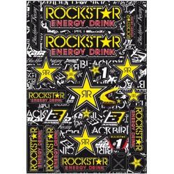 Placa stickere Blackbird Rockstar Energy